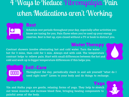4 Ways to Reduce Fibromyalgia Pain When Medications Aren't Working