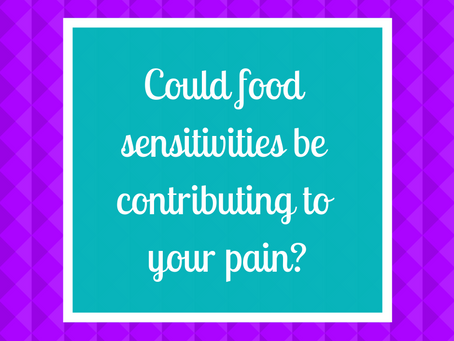 Could food sensitivities be causing your pain?