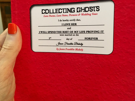 BOOK HOOK: COLLECTING GHOSTS BY JASON FRANKLIN BLAKELY
