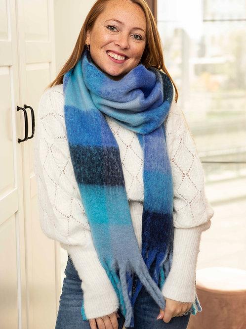 Blue mountain scarf