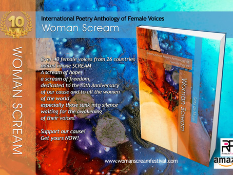 Barbara's Poem Published in Woman Scream