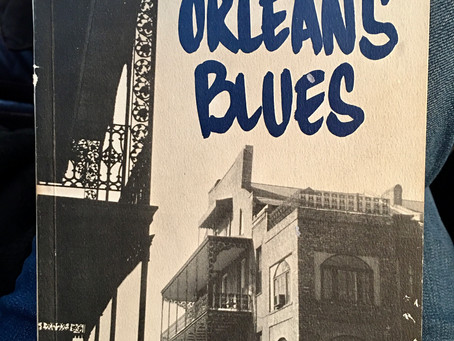 "BOOK HOOK: ""New Orleans Blues"" by Marty Most"