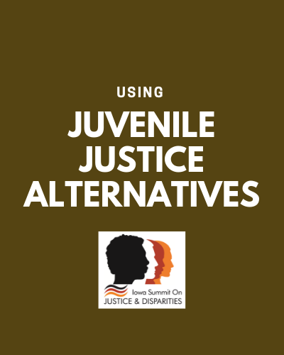 juvenile JUSTICE alternative