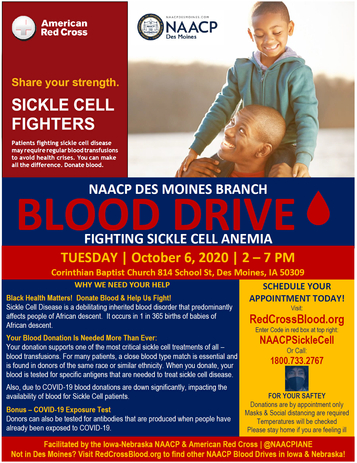 NAACP Des Moines Blood Drive Flyer 2020.png