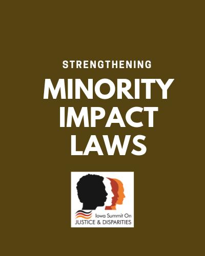 MINORITY IMPACT LAWS