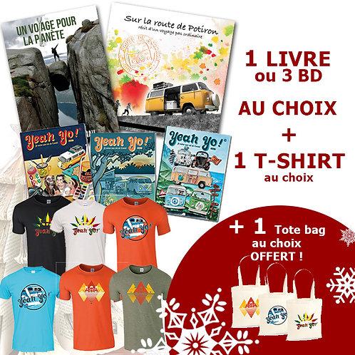 PACK Book & T-shirt
