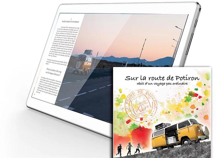 road trip, aventure, famille, livre, livre numérique, voyage, paysage, récit
