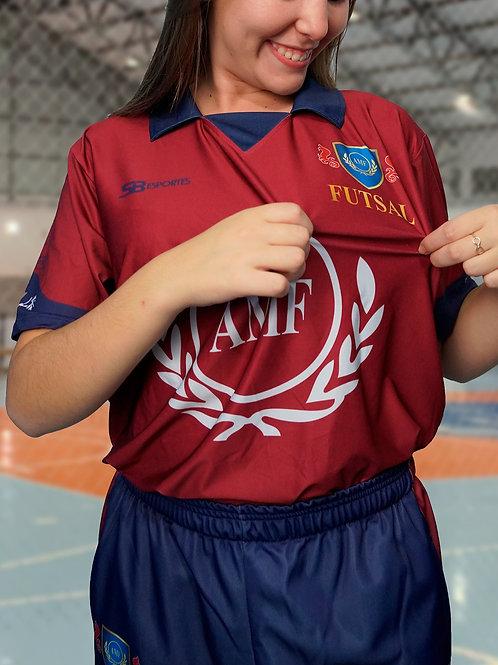 Camisa de Jogo   Polo Vermelha