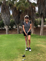 Kathleen at Golf del Sur Tenerife May 20