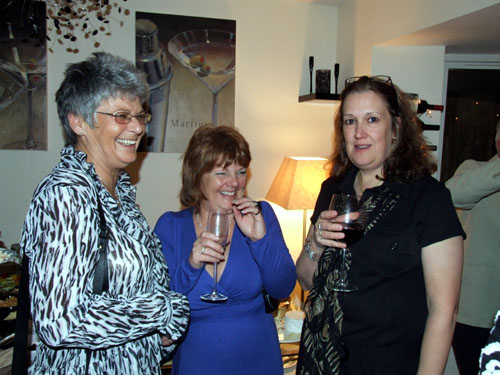 Trish, Hilary and Sue