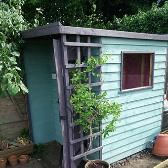 Garden structures - contempary shed