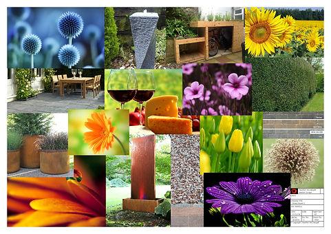 Garden design - mood board