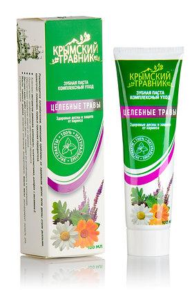 Зубная паста с целебными травами (комплексный уход)