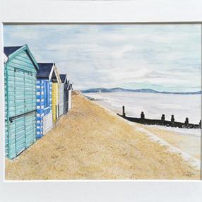 Milford Beach Hut – by Sue £80