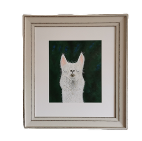 Alpaca - by Sue                         £130 Unframed £85