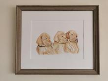Framed Vizsla Trio.jpg