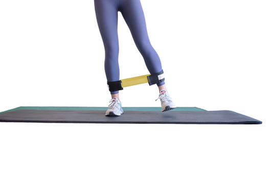 Standing abduction exercise position