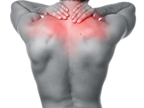 Local pain between shoulder blades?  Do this release