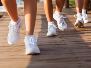 Use your eyes to improve walking posture