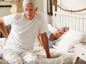 How to get out of bed properly with a bad back