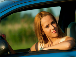 Pain when turning your head while driving?  Do this stretch.