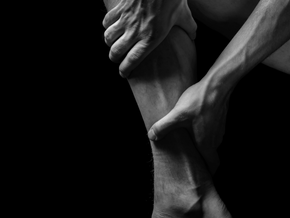 Release the calves to improve posture