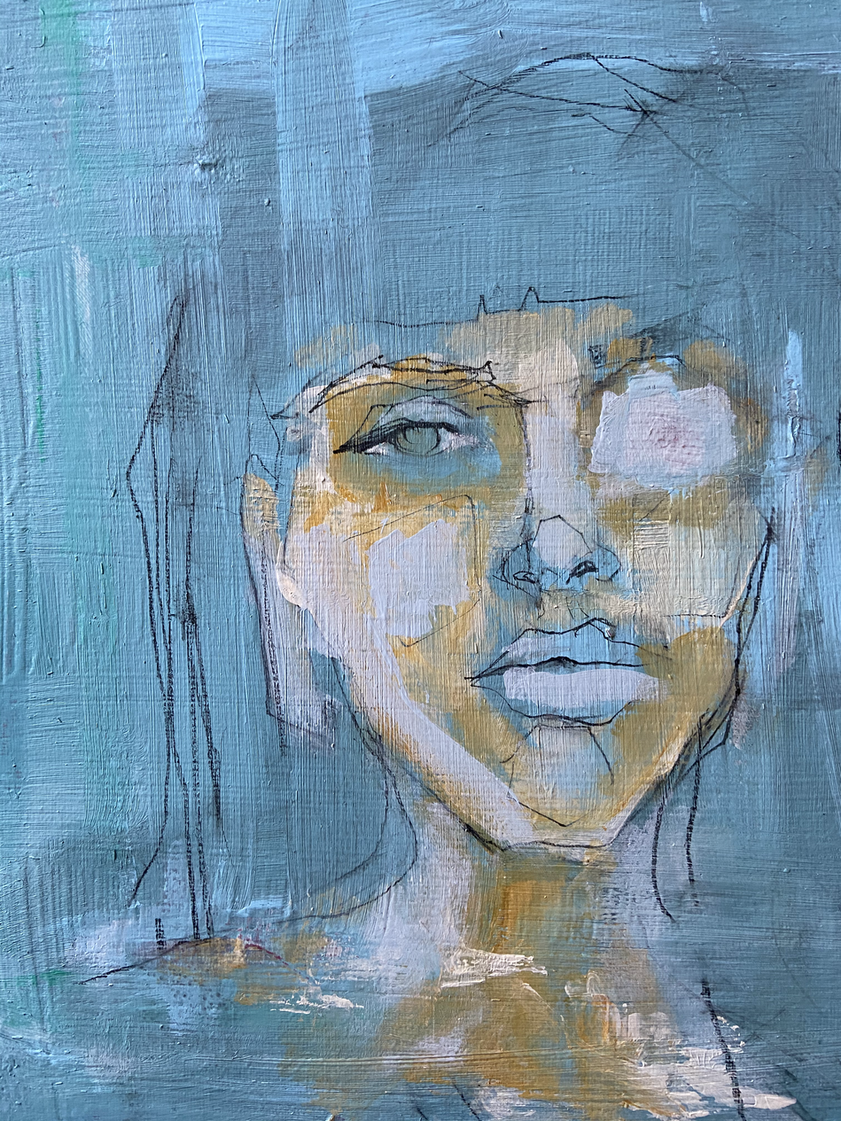 SOLD: Finding myself within the blue