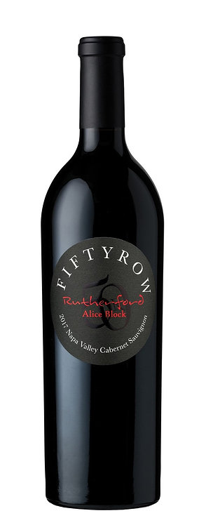 2017 Fiftyrow Napa Valley Rutherford Cabernet