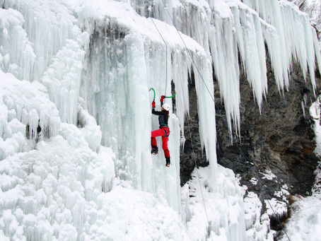 Ice Climbing in the Pacific Northwest