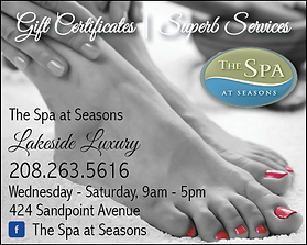 Sandpoint Business The Spa at Seasons
