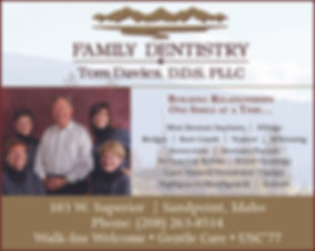 Sandpoint Business Davies Family Dentistry