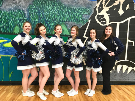 Athletes of the Month: Bonners Ferry High School Cheer Squad
