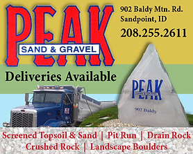 Sandpoint Business Peak Sand and Gravel