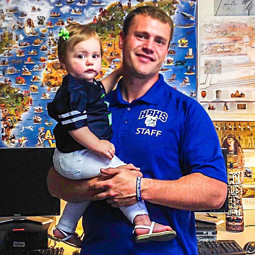Teacher of the Month: Greg Brashear