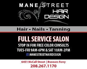 Bonners Ferry Business Mane Street Hair Design