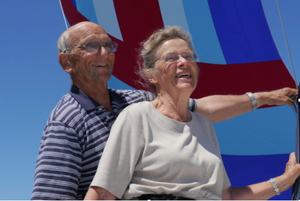 Grandparents Cherishing Little Ones