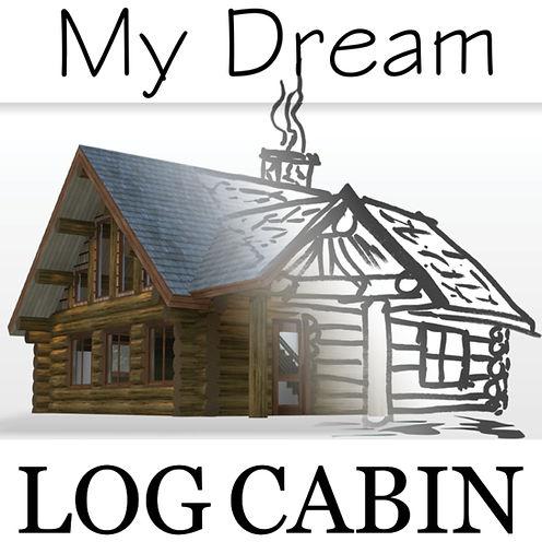 MyDreamLogCabin_PodcastGraphic_500x500.j