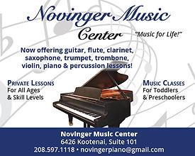 Bonners Ferry Business Novinger Music Center