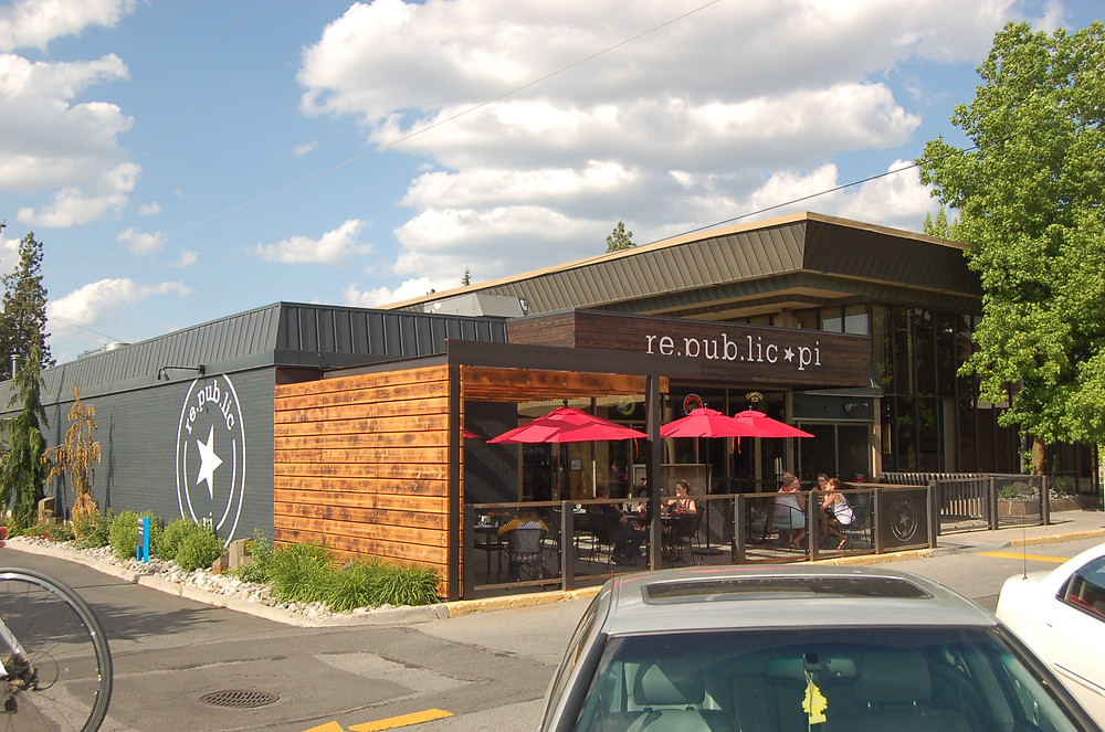 Downriver Grill, The Flying Goat and Republic Pi