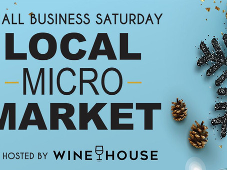 Sip on Champagne While You Shop Local