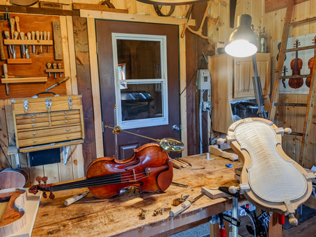 Combining A Love of Wood and Music