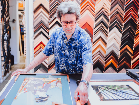 Enhancing Your Artwork with the Art of Custom Framing