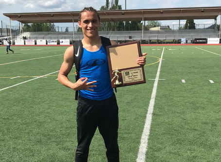 Athlete of the Month: Jurrian Hering