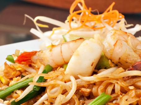 Marinated Shrimp with Jalapeño Vegetable Sauté