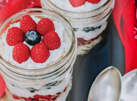 Fourth of July Parfaits