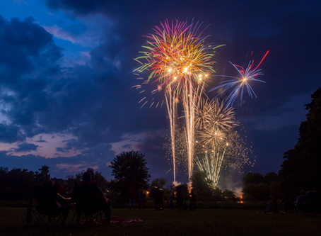 Pyrotechnics: Fourth of July's Bright Moment