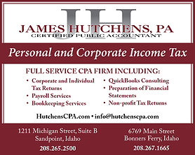 Bonners Ferry Business James Hutchens CPA