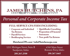 Sandpoint Business James Hutchens Accounting