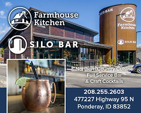 Farmhouse Kitchen and Silo Bar