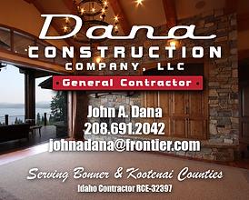 Sandpoint Business Dana Construction Company